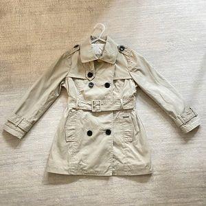 Hugo Boss Girls Trench Coat size 6